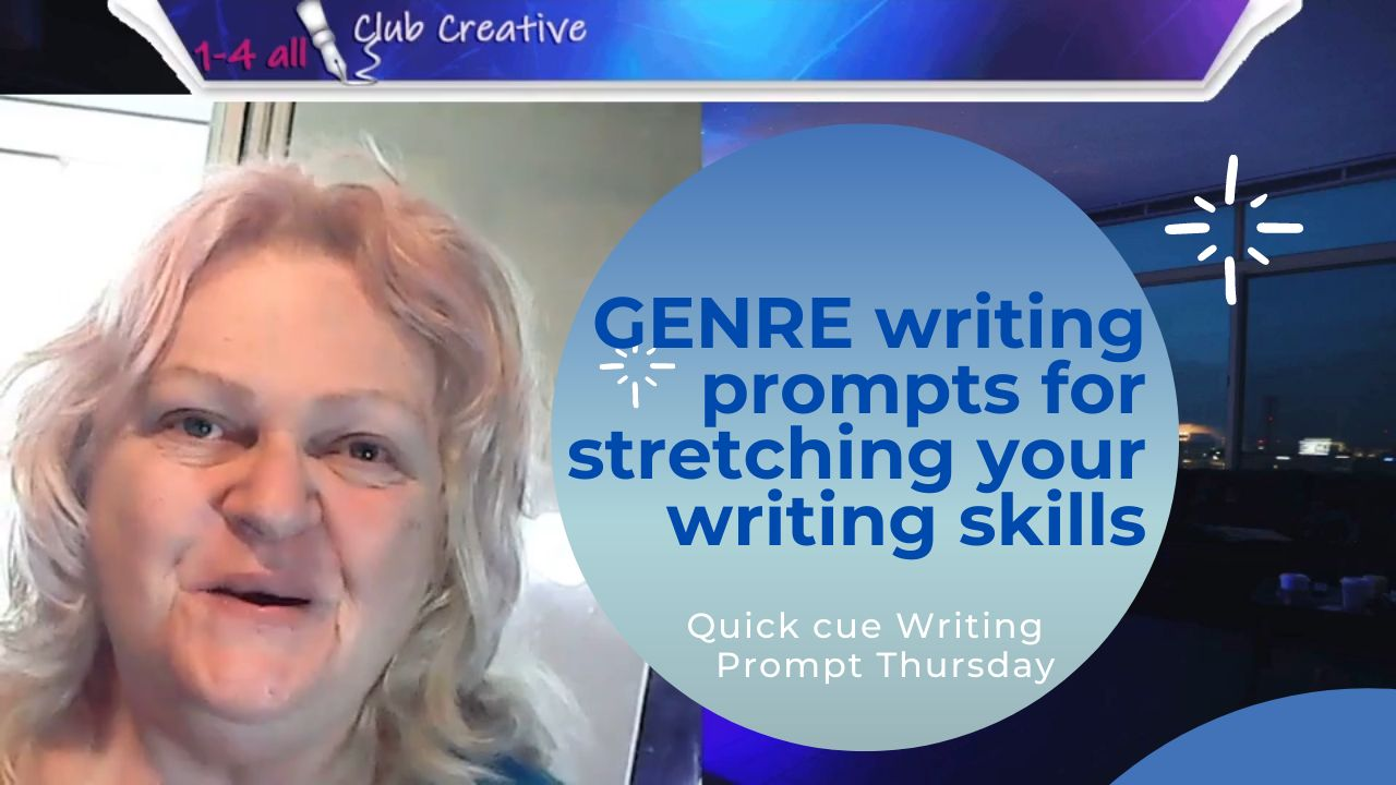 Genre writing prompts for stretching your writing skills